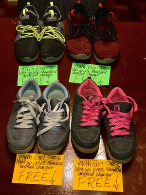 ‼️FREE YOUTH GIRL/BOY SNEAKERS‼️ for Sale in Saginaw, TX