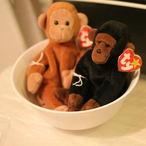 Retired Bongo & Congo Monkey & Gorilla TY Beanie Babies- NEVER PLAYED WITH-$5 each for Sale in Hicksville, NY