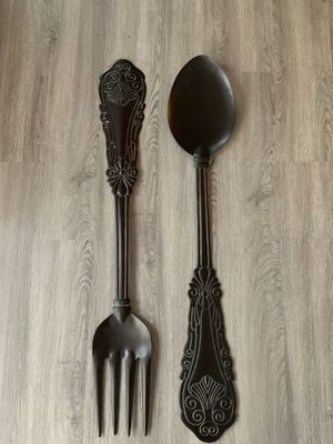 Large hanging fork spoon for Sale in Raleigh, NC