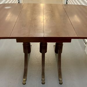 Rare 100+ Yr Old Duncan Phyfe Drop Leaf Table /Needs Refinishing for Sale in Hillsboro, OR