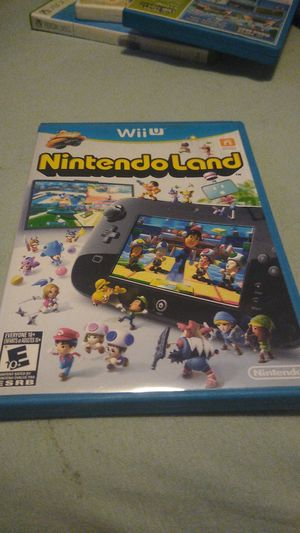 Wii u Nintendo land for Sale in Revere, MA