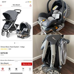 Chicco Bravo Travel System for Sale in Okeechobee, FL