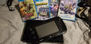 Wii U Console and Gamepad 4 Games for Sale in Austin, TX