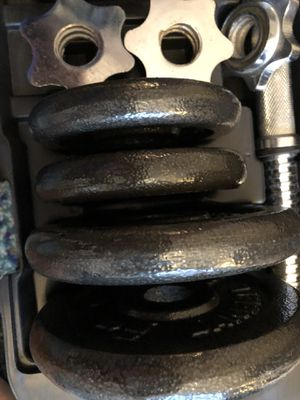 Cap barbell dumbbell set for Sale in Pittsburgh, PA