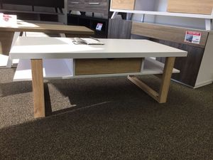 Coffee Table, White & Weathered for Sale in Norwalk, CA