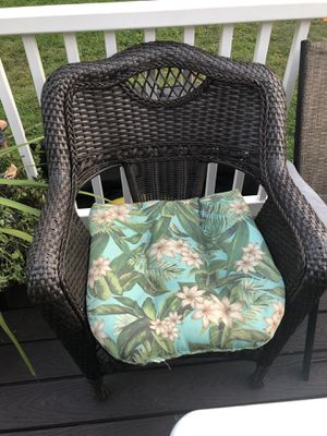 Wicker sofa and chair for Sale in Wethersfield, CT