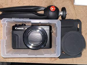 Canon g7x mark II for Sale in Lynwood, CA