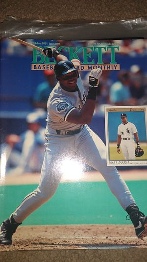 1991 Frank Thomas Beckett Baseball Card Monthly for Sale in Dallas, GA