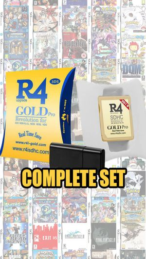R4 3DS Gold Pro w/ 5000+ Games Ready to Play!! R4i Gold Pro For ALL Nintendo 2DS, 3DS, DSi XL, NDS Lite, and NDS Systems!! for Sale in Winter Springs, FL