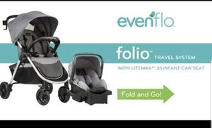Infant travel system/ stroller & Car seat for Sale in Atlanta, GA