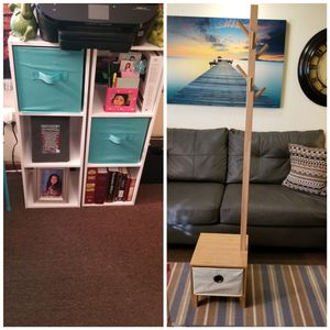 Shelves and coat hanger for Sale in Springfield, MA