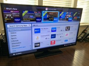 "Samsung Smart TV 60"" with Soundbar and Wall Mount for Sale in Alexandria, VA"