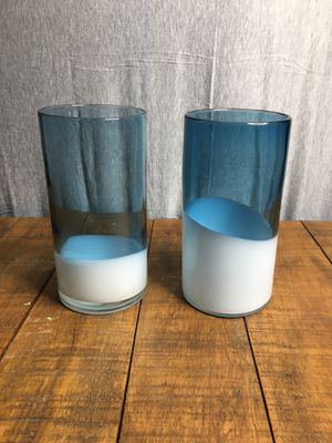 2 large candle holder vases for Sale in San Ramon, CA