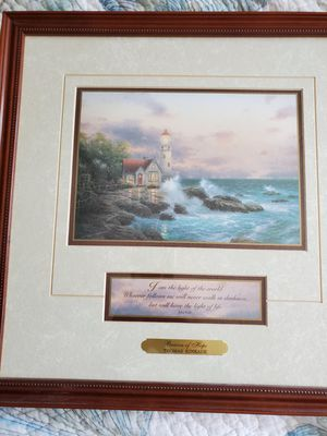 """Thomas Kincaid """"Beacon of Hope"""" print for Sale in Salem, NH"""