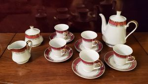 Tea Set with Creamer and Sugar Bowl for Sale in Revere, MA