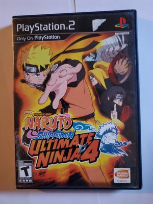 NARUTO Ultimate Ninja 2,3,4 playstation 2 bundle for Sale in Goldfield, IA