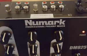 NUMARK Professional PreAmp-Mixer for Sale in Chicago, IL