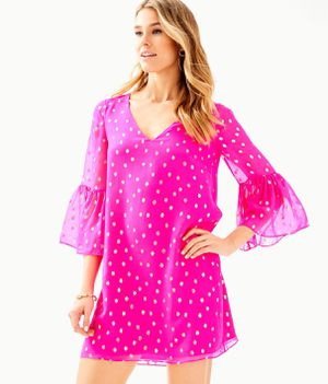 NWT Lilly Pulitzer Caroline silk tunic size 00 for Sale in Mount Airy, MD