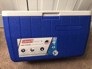 48 Quart Cooler // Coleman for Sale in Smyrna, GA