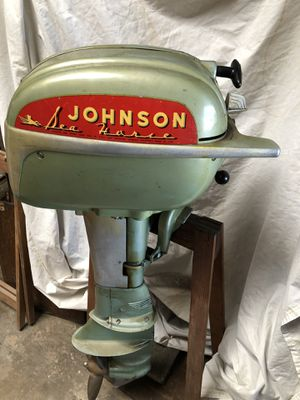 Vintage Johnson Outboard Sea Horse Motor for Sale in Hayward, CA