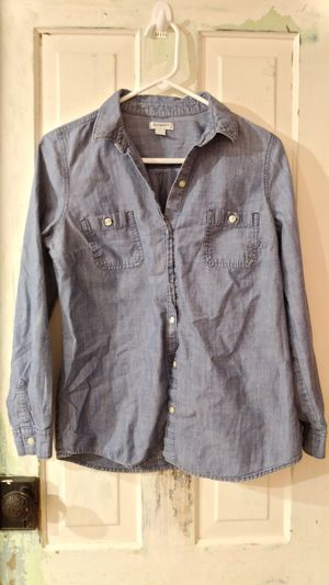 Old navy blue button up shirt for Sale in Williamsburg, MI