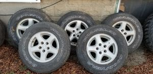 5 Jeep Aluminum Rims- $150 for Sale in New York, NY
