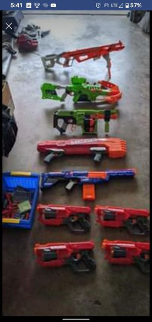 All Nerf guns pictured for Sale in Delray Beach, FL