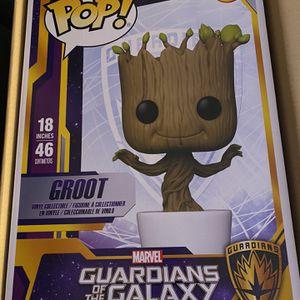 18 Inch Groot Funko Pop for Sale in Eastpointe, MI