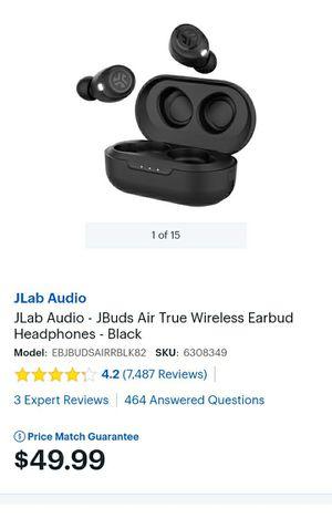 Jbud air true wireless earbuds for Sale in St. Petersburg, FL
