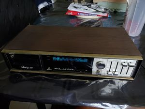 Vintage Sterling 850 8 track Player Stereo Receiver for Sale in Needville, TX