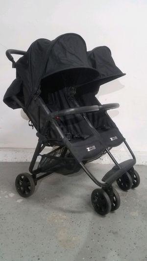 Zoe ultralight travel double umbrella stroller for Sale in Irvine, CA