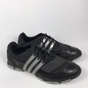 Adidas Mens Tour 360 4.0 Golf Mens Sz 15 Black Lace Soft Spikes Training cleats Shoes for Sale in Sioux Falls, SD