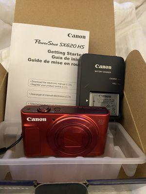 Canon Digital Camera (Red)- SX620 for Sale in Miami, FL