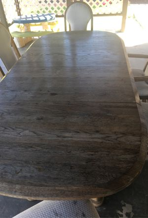 Outdoor Dinning Set with 6 comfy chairs. $120 OBO for Sale in Garden Grove, CA