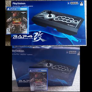 Street Fighter 5 & Rap4 Contoller Gaming Pad PS4 for Sale in San Diego, CA