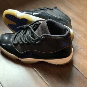 Jordan 11 Retro Men Black Shoes Space Jams for Sale in Murfreesboro, TN