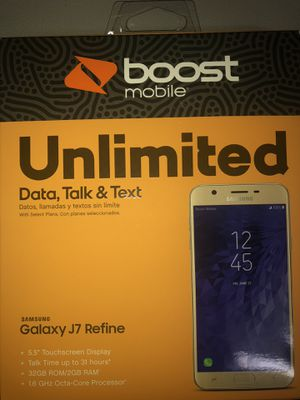 Free Samsung j7 tired of being without unlimited gb and no hot spot come see me 9307 lemturner rd 32208 for Sale in Jacksonville, FL