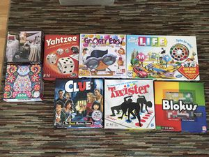 Board games and puzzles for Sale in Portsmouth, VA