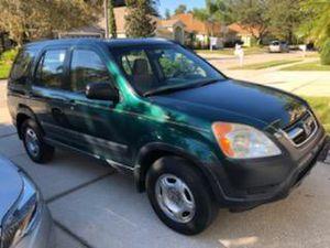 Honda CRV 2002 5MT flawless Rare for Sale in Tampa, FL