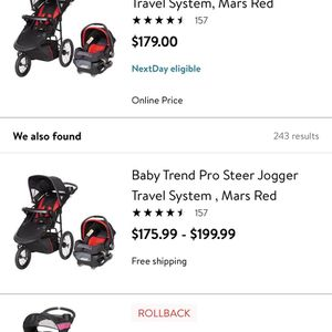 Baby Trend Jogger And Car seat for Sale in Lynn, MA