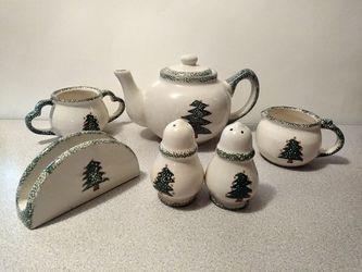 Ceramic 7 piece serving set for Sale in Philadelphia,  PA