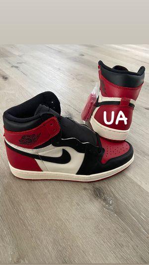 "Nike Air Jordan ""Bred Toe"" Retro 1 SIZE 9 $270 1:1 for Sale in Redondo Beach, CA"