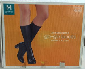 New in Box Ladies Black Boots 7/8 Bought for Costume, Never Worn for Sale in Apollo Beach, FL