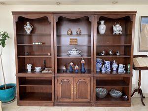 Wooden bookshelves for Sale in St. Petersburg, FL