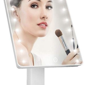Lighted Vanity Makeup Mirror with 16 Led Lights 180 Degree Free Rotation Touch Screen Adjusted Brightness Battery USB Dual Supply Bathroom Beauty Mirr for Sale in El Monte, CA