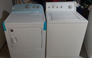 Whirlpool Heavy Duty Electric Dryer/Kenmore Heavy Duty Super Capacity Plus Electric Washer for Sale in O'Fallon, MO
