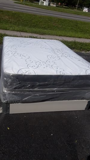 Plush queen size mattress sets 175 free delivery for Sale in Lakeland, FL