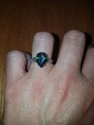 Sterling silver Mystic topaz ring size 7 for Sale in Dundalk, MD