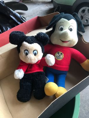 Vintage Mickey Mouse stuffed animal for Sale in Whittier, CA