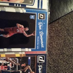Ben Simmons Rookie Donruss Optic for Sale in Evansville, IN